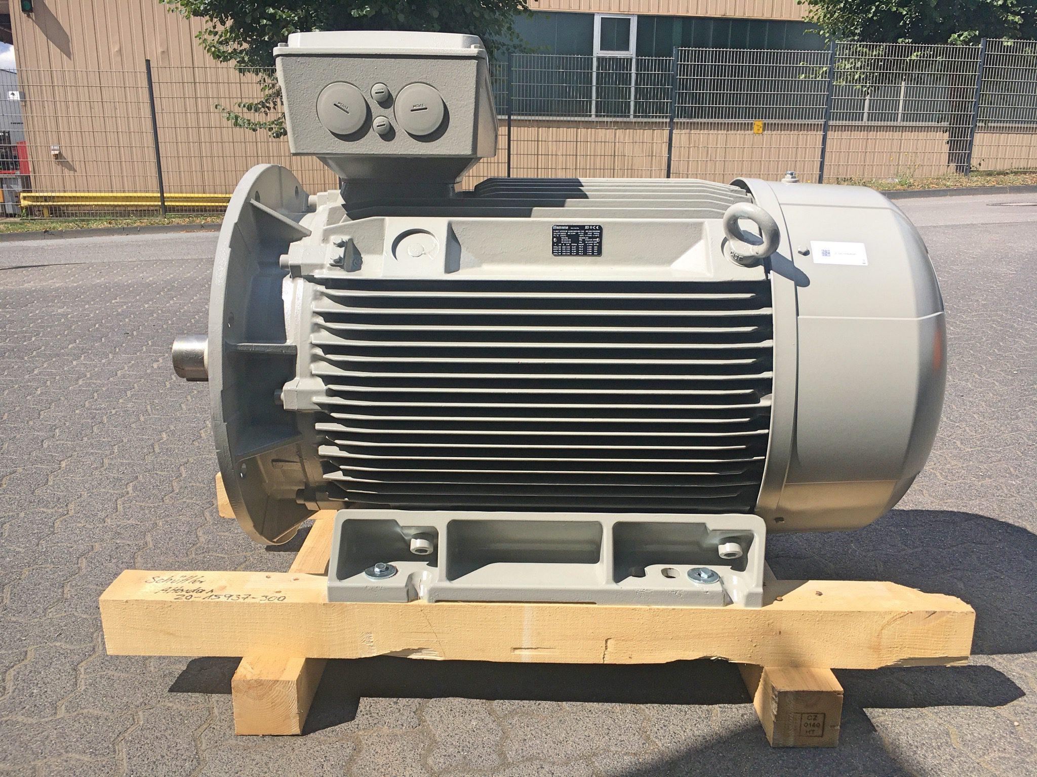 132 KW - Elektromotor - Schüttler Elektromaschienbau